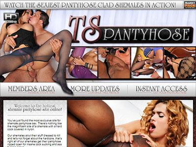 #7 - TS Pantyhose<br>(81 / 100)