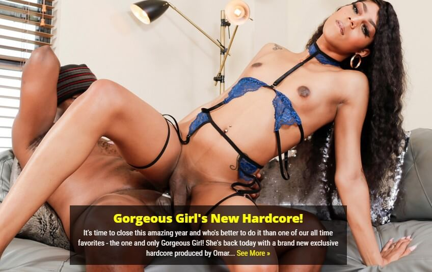 Ebony Trans Porn at Black TGirls - Site review by FetishKing.Net